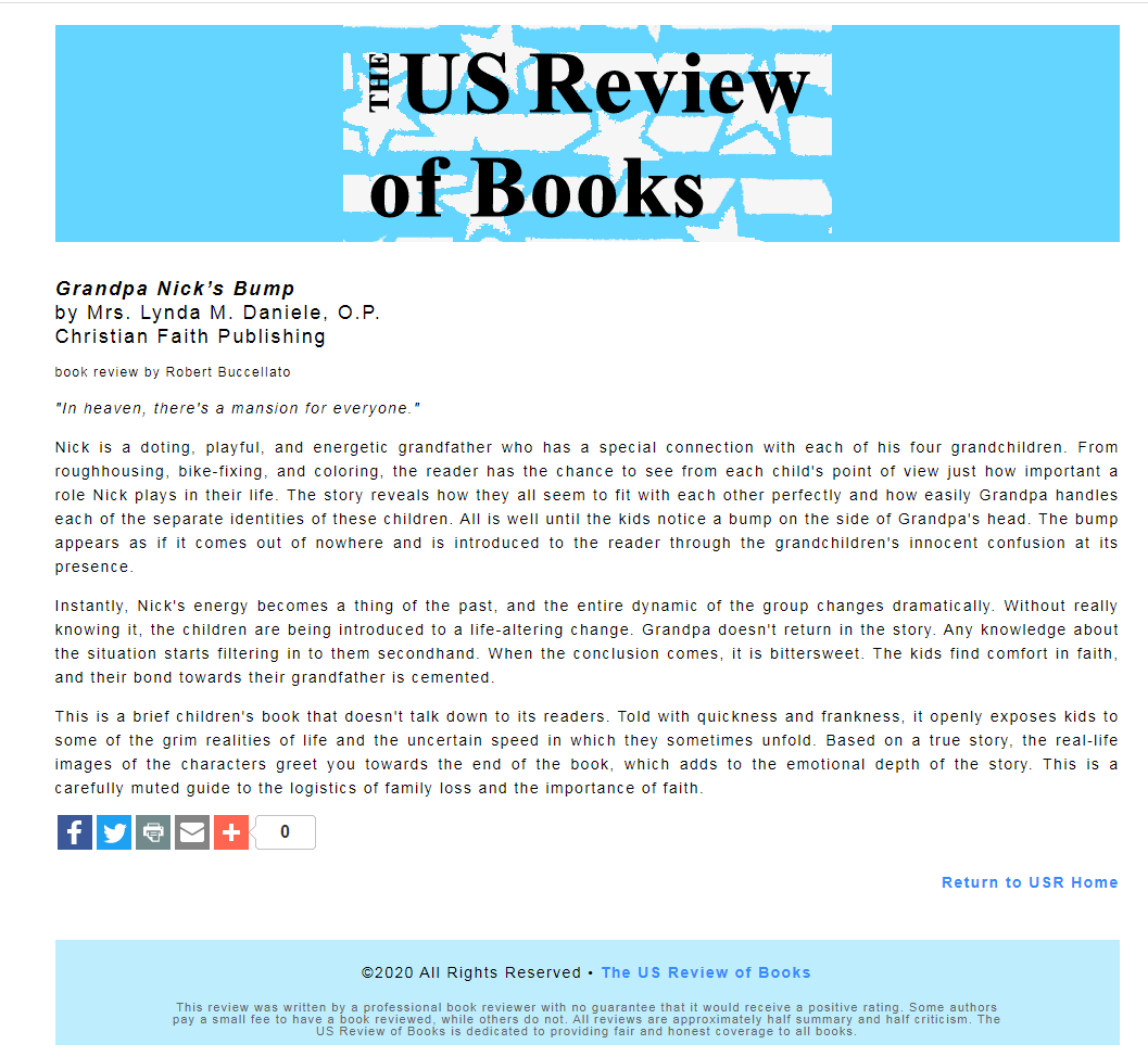 Us Book Review